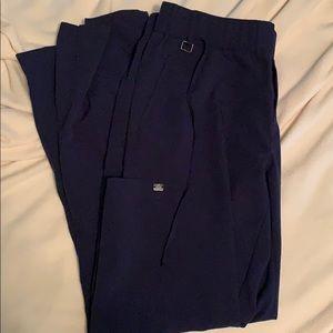 Navy women's greys anatomy scrub pants